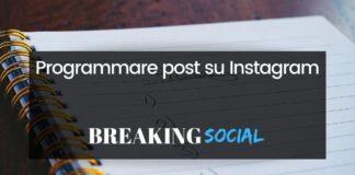 Come programmare post su Instagram