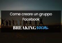 Come creare un gruppo Facebook