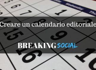 Come creare un calendario editoriale