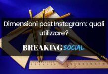 Dimensioni post Instagram