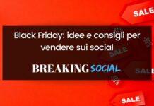 Black Friday: come vendere sui social