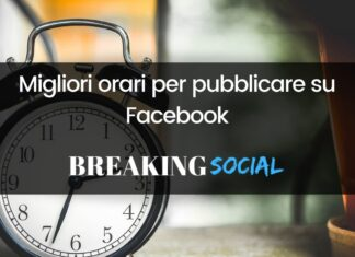 Migliori orari per pubblicare su Facebook