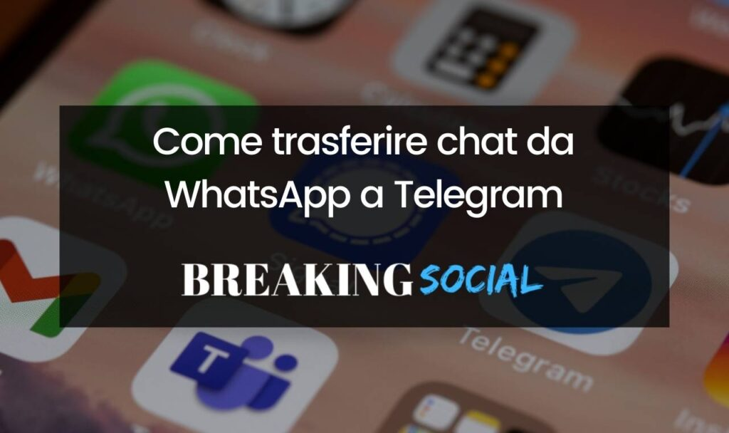 Come importare una chat WhatsApp su Telegram