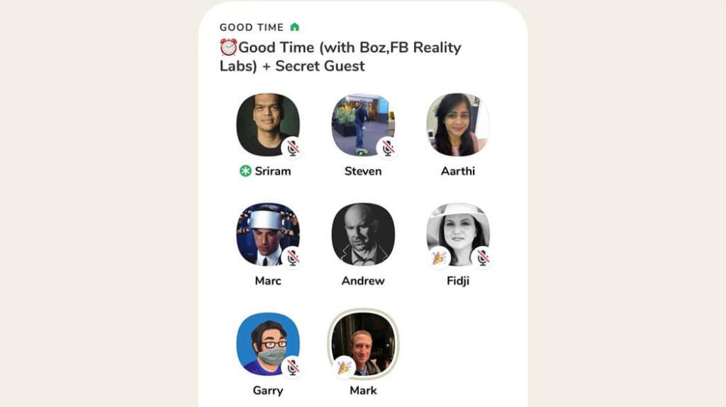 Mark Zuckerberg su Clubhouse