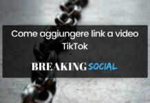Come aggiungere link a video TikTok