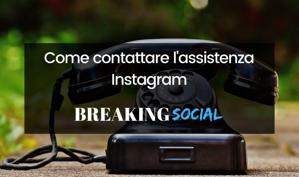 Come contattare l'assistenza Instagram tramite sito e app