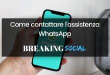 Come contattare WhatsApp, assistenza WhatsApp