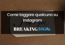 Come taggare su Instagram