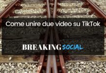 Come unire due video su TikTok