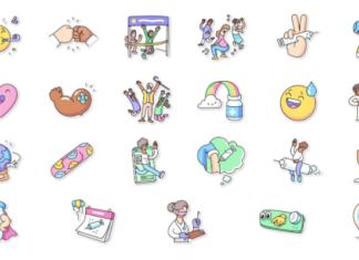 WhatsApp sticker vaccini