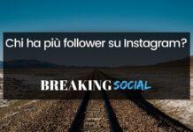 Chi ha più follower su Instagram