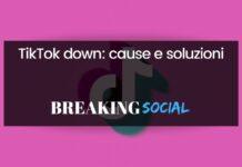TikTok down