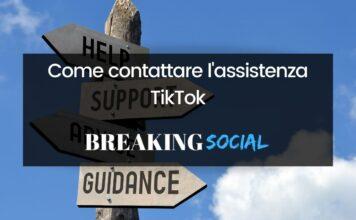 Come contattare assistenza TikTok