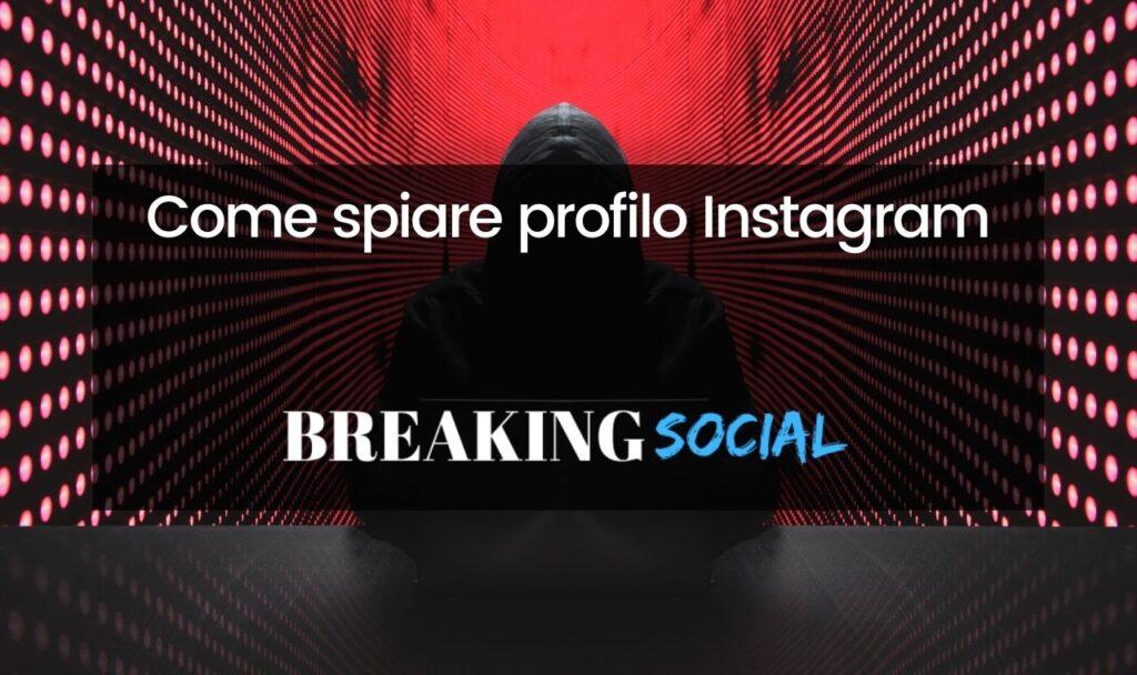 Come spiare Instagram
