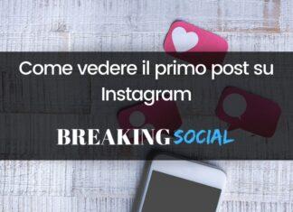 Come vedere il primo post su Instagram