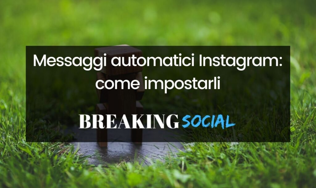 Messaggi automatici Instagram