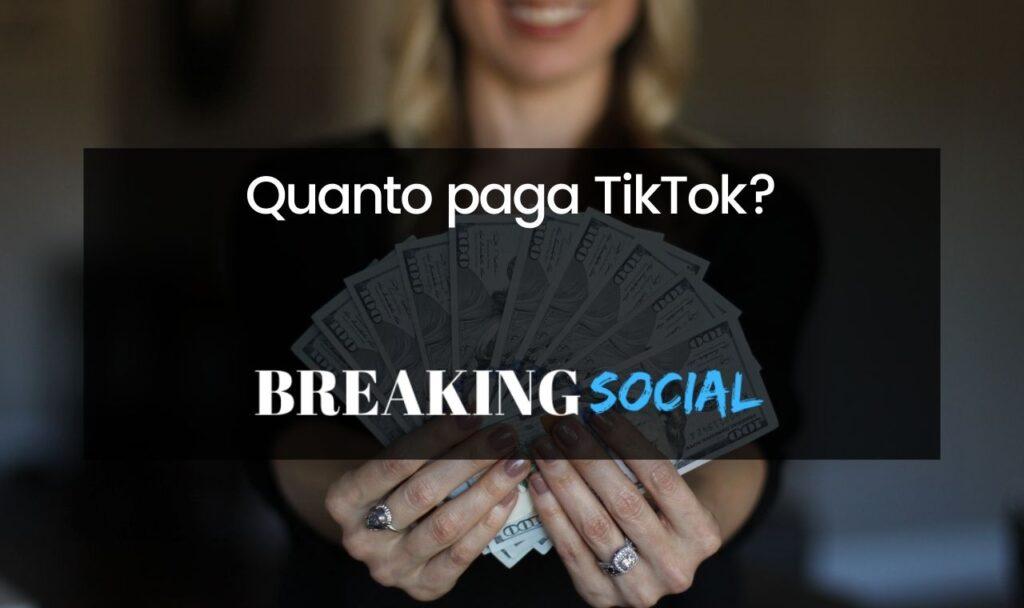 Quanto paga TikTok